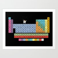 The Element Of Surprise Art Print