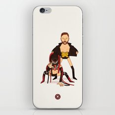 Finn Balor & Demon - NXT Pro Wrestler Illustration iPhone & iPod Skin