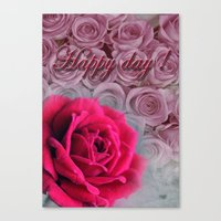 Happy Day  Canvas Print