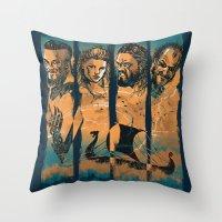 Vikings Throw Pillow