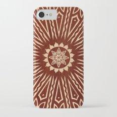 ozorahmi wood mandala iPhone 7 Slim Case
