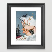 Material Hindrances Framed Art Print