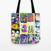 A Tapestry Of Flowers Tote Bag
