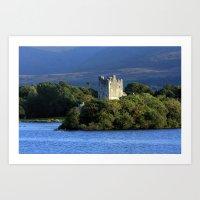 Ross Castle, Killarney, … Art Print