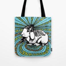 Patrick Swayze the rabbit Tote Bag