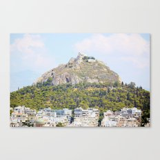 Athens in peace Canvas Print