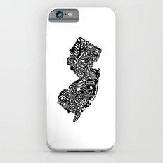 Typographic New Jersey Slim Case iPhone 6s