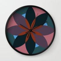 Douche Flower Wall Clock