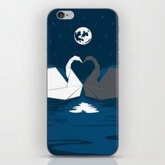 Origami Lake iPhone & iPod Skin