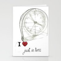 Just In Time Stationery Cards