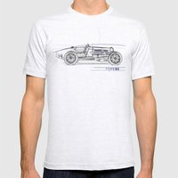 RennSport Speed Series: … Mens Fitted Tee Ash Grey SMALL