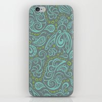 Festooned Feathered Frie… iPhone & iPod Skin