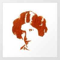 Spices Leia - Paprika Art Print