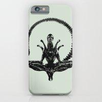 Meditation Alien iPhone 6 Slim Case