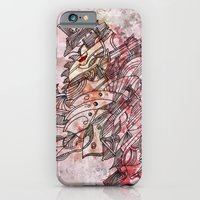 The Robot who melted the Moon iPhone 6 Slim Case