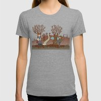 FALL Womens Fitted Tee Tri-Grey SMALL