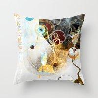 Celestial Honey Translat… Throw Pillow