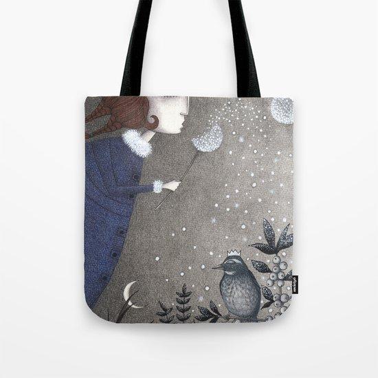 Winter Twilight Tote Bag