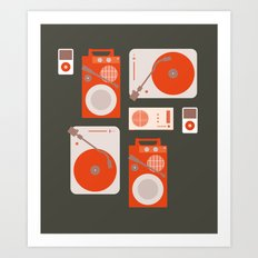 Music Lover Art Print