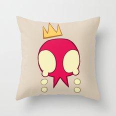 get real sad Throw Pillow