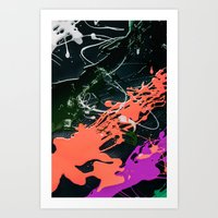 KOLORS 3 Art Print