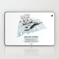 Chato Font poster Laptop & iPad Skin