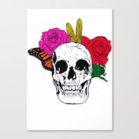Skull I Canvas Print