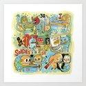 Training for days of sales/J-3 Art Print