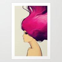 Blaze Art Print