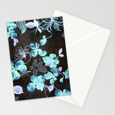 VINTAGE FLOWERS XXXV - for iphone Stationery Cards