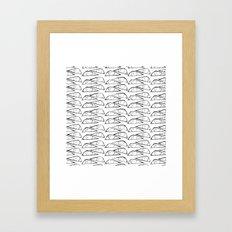Ogies Wit Framed Art Print