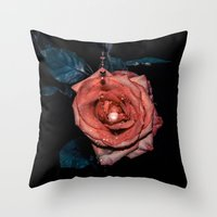 Dark Passion Throw Pillow