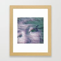 Kingdom of the little seagull Framed Art Print