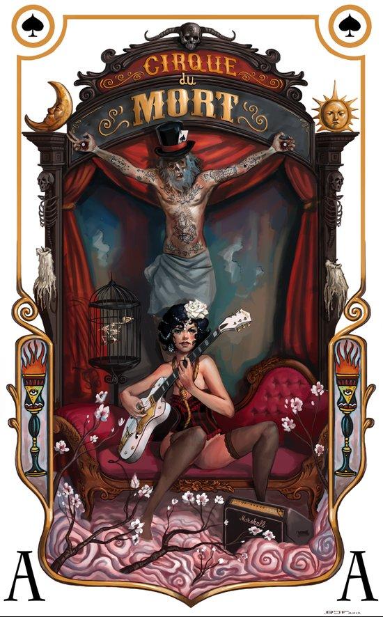 Cirque du Mort Art Print