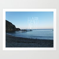 HAPPI-NESS Art Print