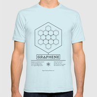 Graphene: Super Science Series No.1  Mens Fitted Tee Light Blue SMALL