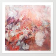Art Print featuring Coral Sky by Nikkistrange