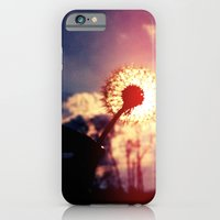 iPhone & iPod Case featuring Dandelion in the Sun by Nur Simsek
