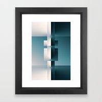 Sides Framed Art Print