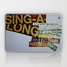 Singalong Laptop & iPad Skin