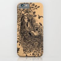 Lady and the fox iPhone 6 Slim Case
