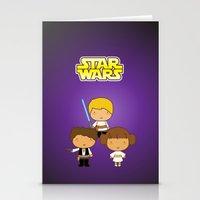 Star Wars Trio Stationery Cards