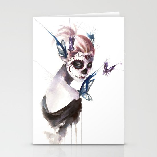 Mourning Stationery Card