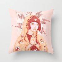 St. Kyary Throw Pillow