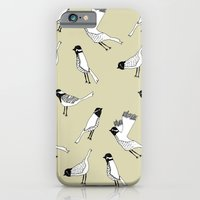 iPhone & iPod Case featuring Bird Print - Natural by Hannah Stevens