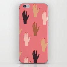 LADY FINGERS iPhone & iPod Skin