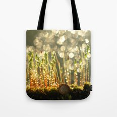 Sleeping Snail In The Mo… Tote Bag