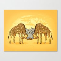 Safari Park Canvas Print