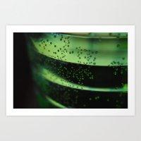 A Look Through The Glass Art Print