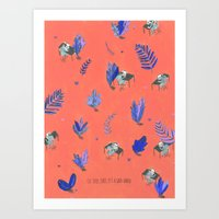 Uh Baby Baby It's A Wild… Art Print